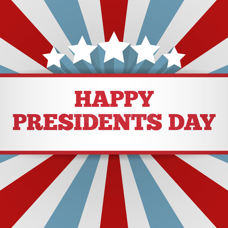 Extended Presidents Day: Presidents Day Background. USA Patriotic Vector Template