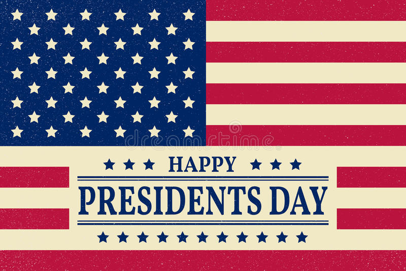 Presidents Day. Presidents Day Vector. Presidents Day Drawing. P. Residents Day Image. Presidents Day Graphic. Presidents Day Art. President's Day. American Flag vector illustration