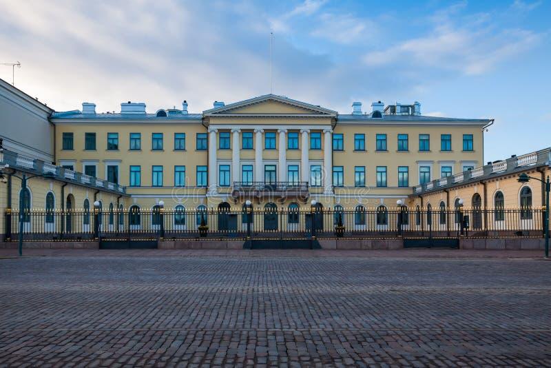 presidents- helsinki slott royaltyfria foton