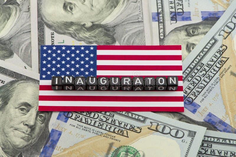 Presidents- invigning för Förenta staterna royaltyfria bilder