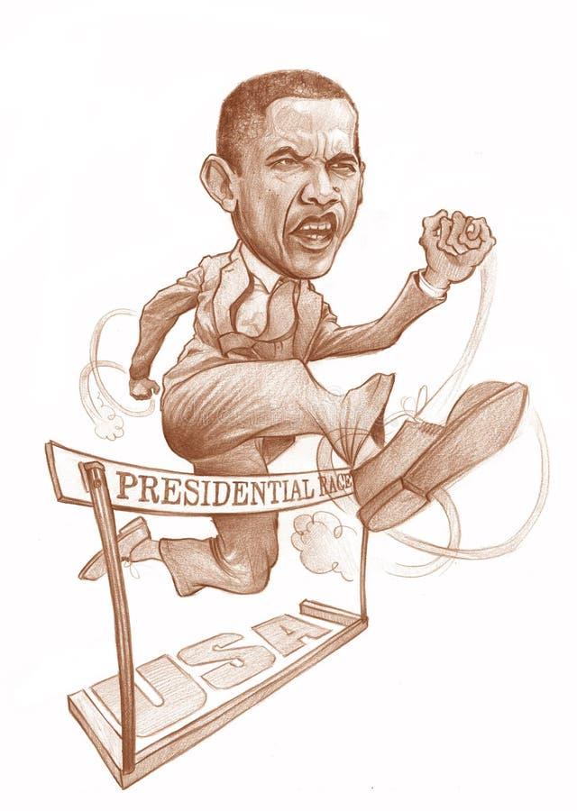 presidents- race för obama