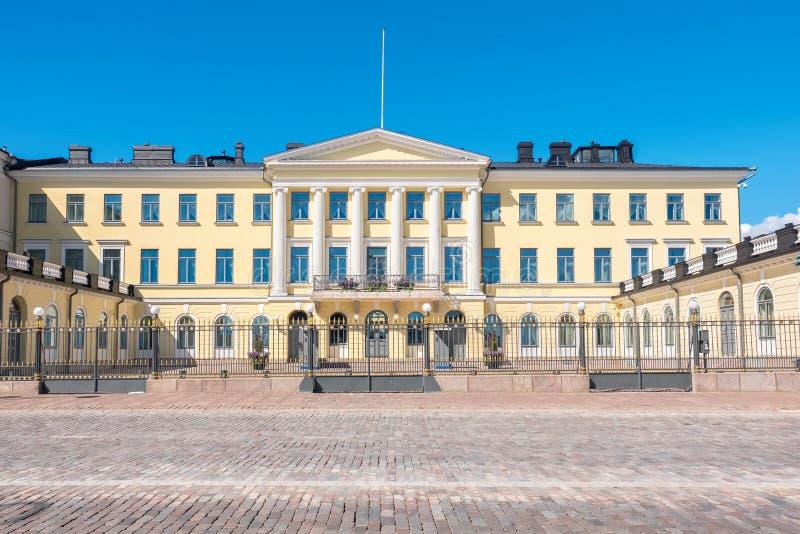 Presidents- slott Helsingfors Finland fotografering för bildbyråer