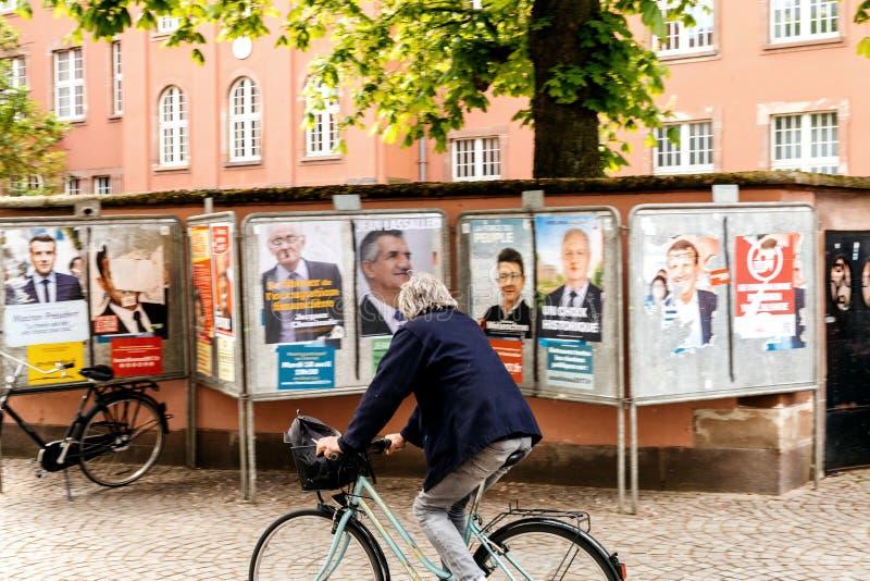 Presidentval i Frankrike arkivfoton