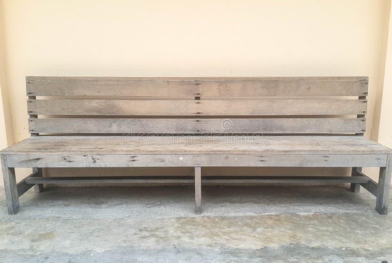 Presidenza di legno immagine stock