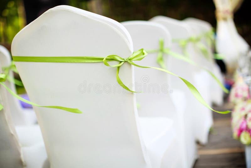 Presidenze di nozze immagine stock libera da diritti