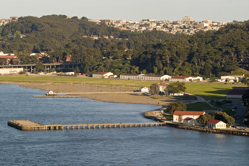 Presidio en Golden Gate Park fotos de archivo