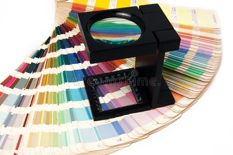 Presione a la gerencia de color fotos de archivo