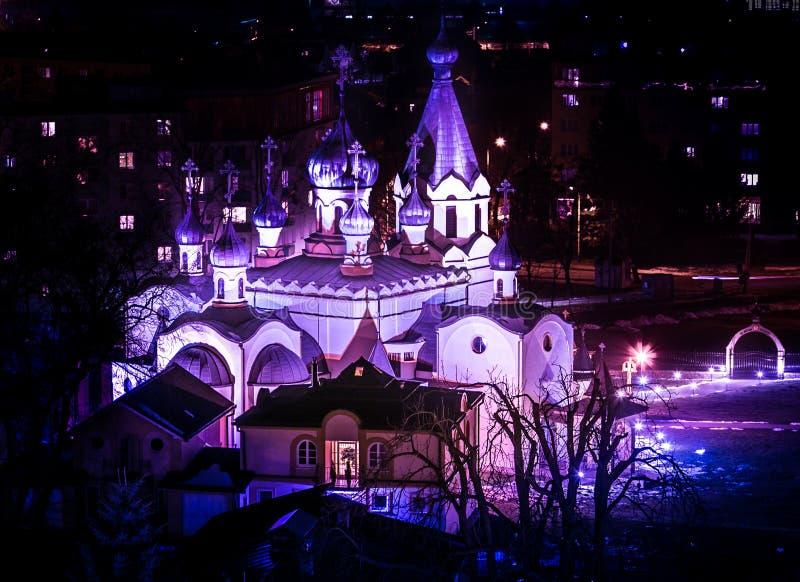 Presov - Orthodoxe kerk stock foto's