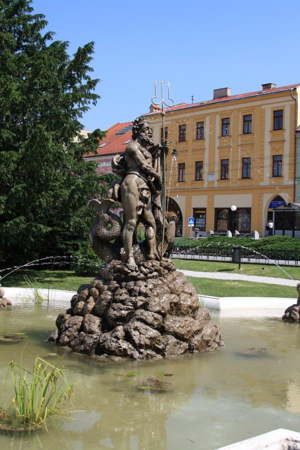 Presov, Slovacchia, anno 2010 fotografia stock libera da diritti
