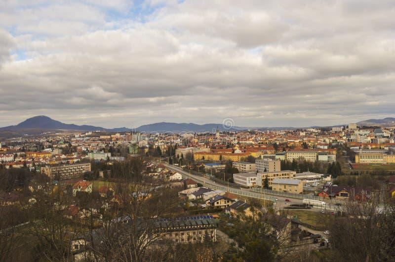 Presov-Stadt Scape lizenzfreie stockfotografie