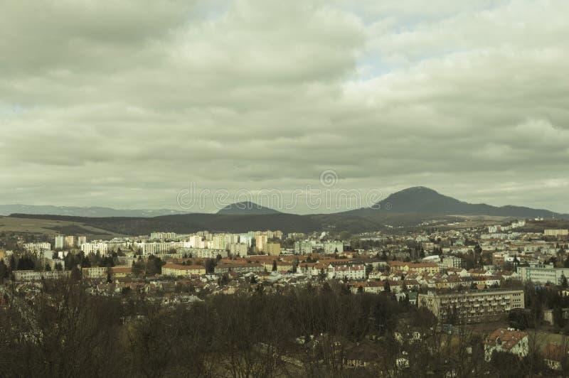 Presov-Stadt Scape lizenzfreies stockbild