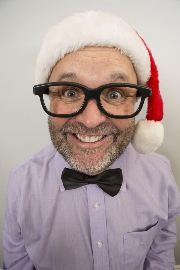 Presque ici expressions de Noël photographie stock