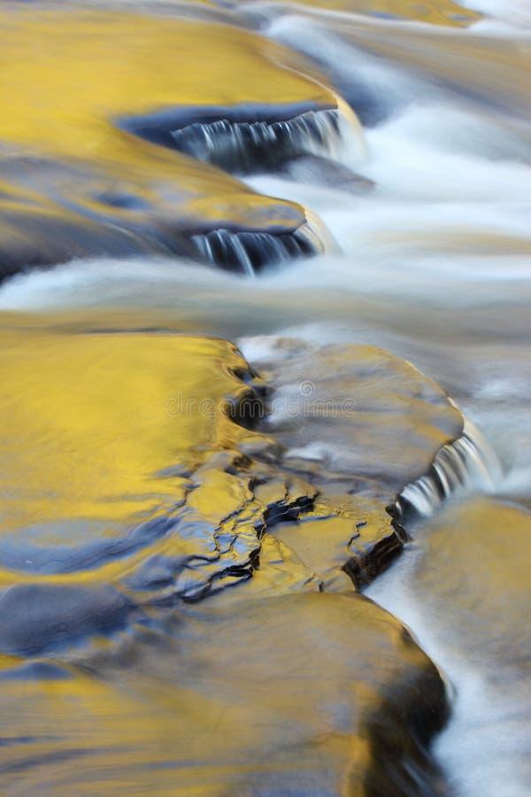 Presque Isle River stock photo