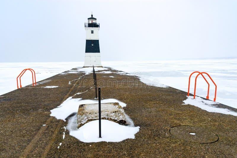 Presque Isle State Park. Lake Erie stock image