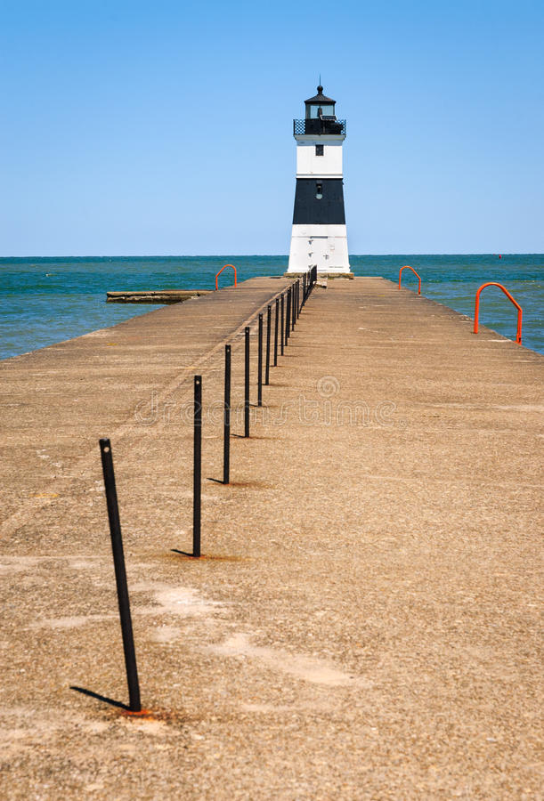 Presque Isle State Park. Lake Erie stock photography