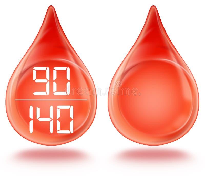 Download Pressão sanguínea ilustração stock. Ilustração de pressão - 12805419