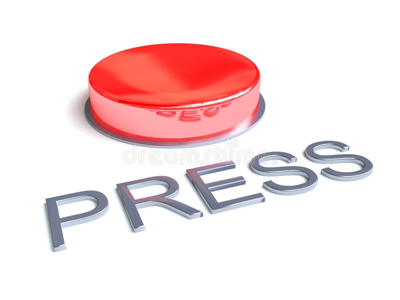 Press Button royalty free stock photos