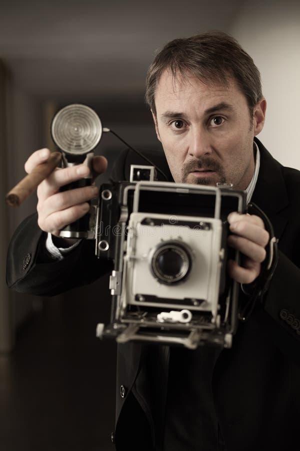 Press photographer stock photos