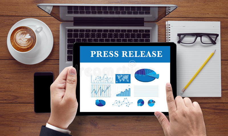 Press Release royalty free stock images