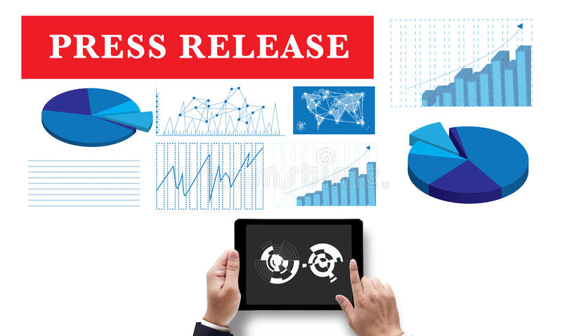 Press Release stock images