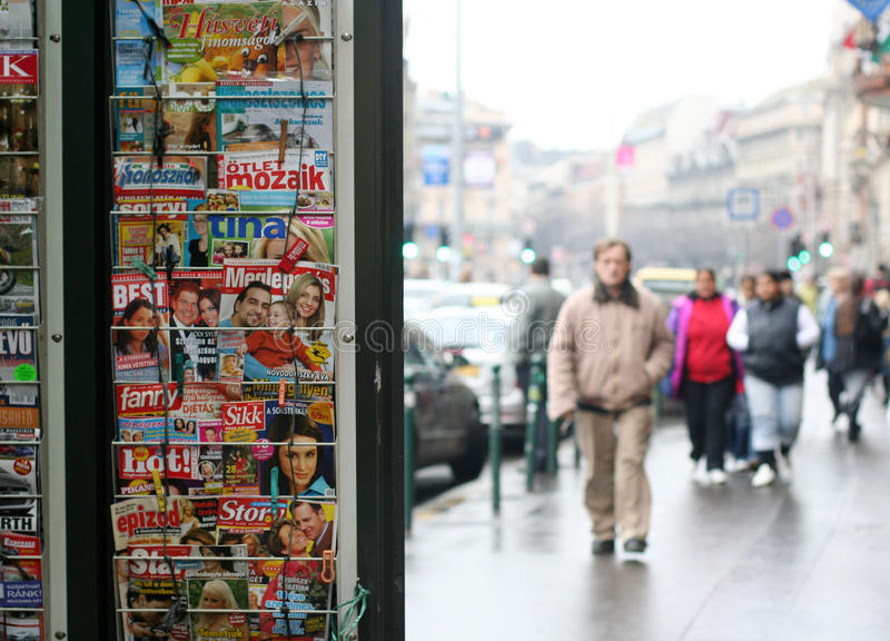 Download Press stand editorial image. Image of paper, papers, journalism - 31354575