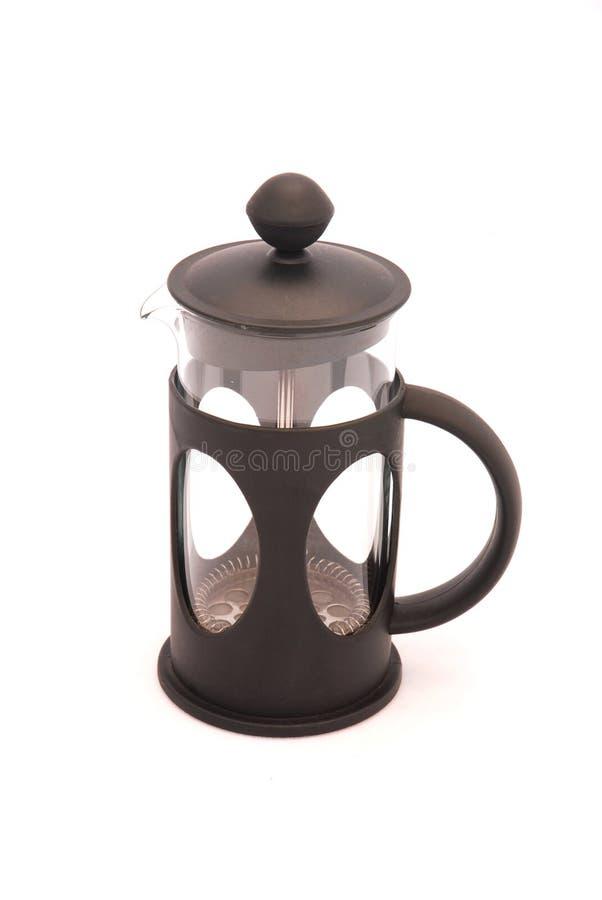 Pressa del caffè fotografie stock
