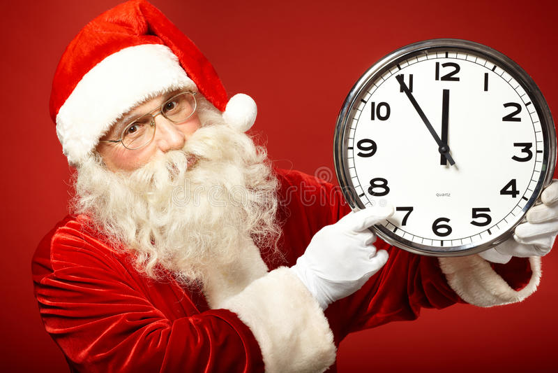 Pressa para o Natal fotografia de stock royalty free