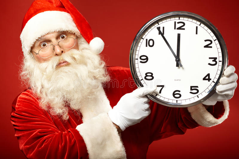 Pressa para o Natal fotografia de stock