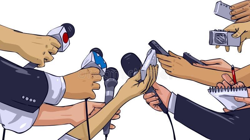 Presse lizenzfreie abbildung