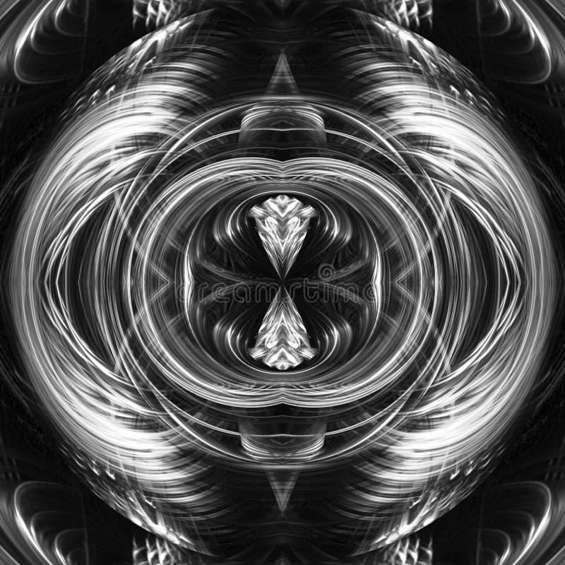 Presse papier/tribure a MC Escher illustrazione di stock