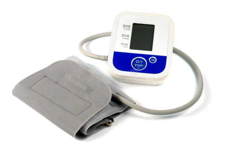 pression automatique de mètre de sang photo stock