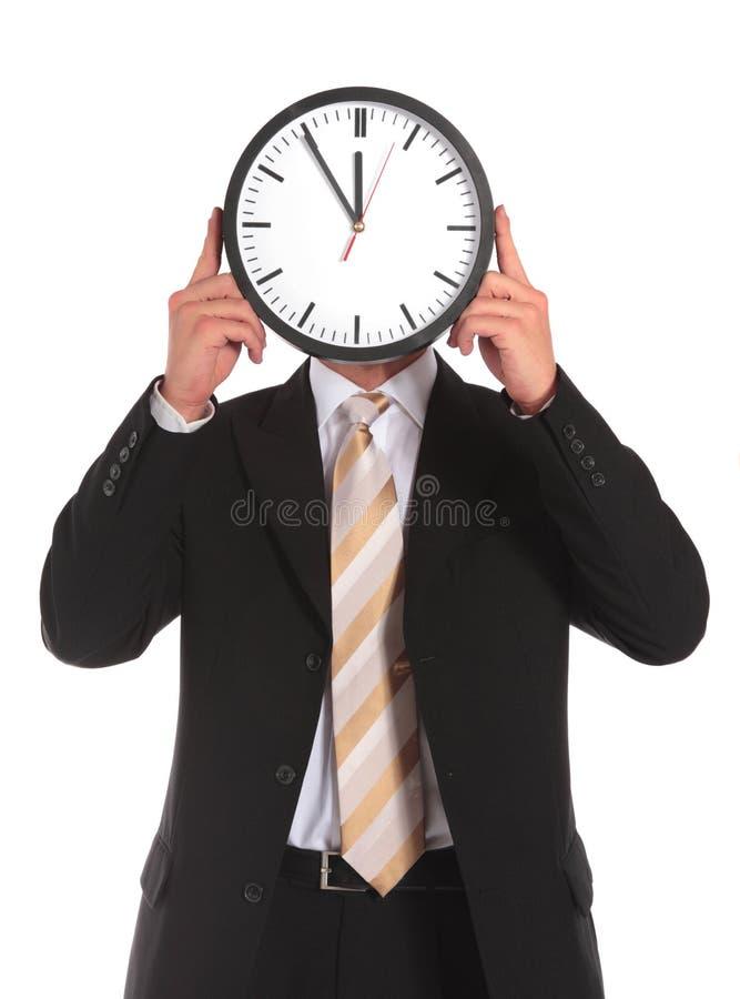 Pression de temps photographie stock