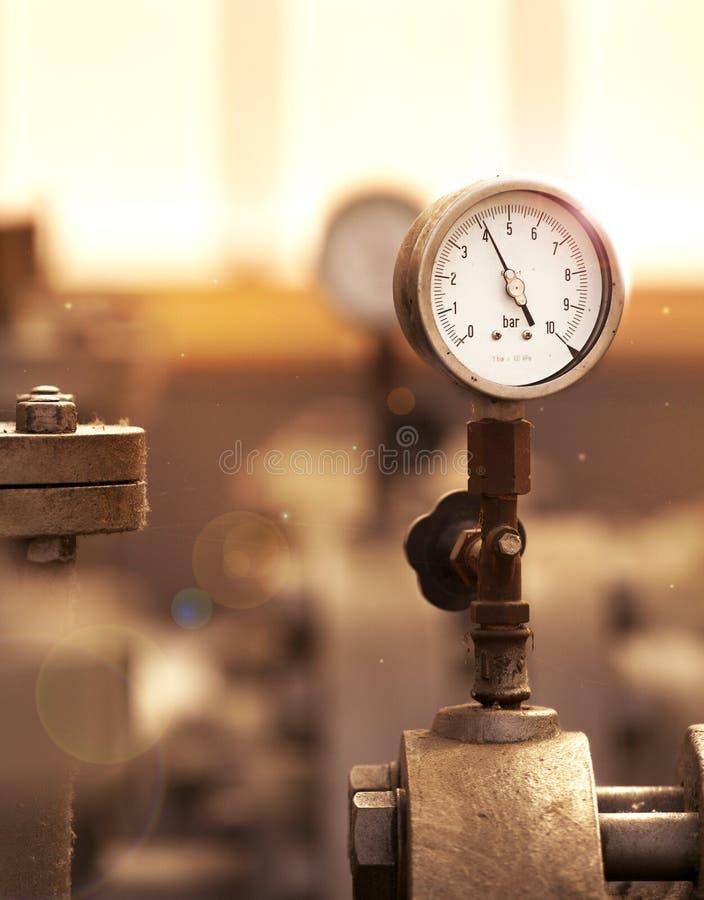 pressione fotografia stock