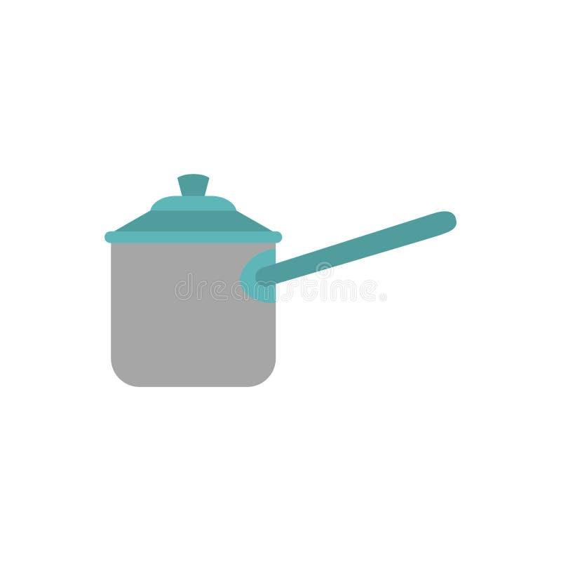 Pressione del fornello della cucina illustrazione di stock