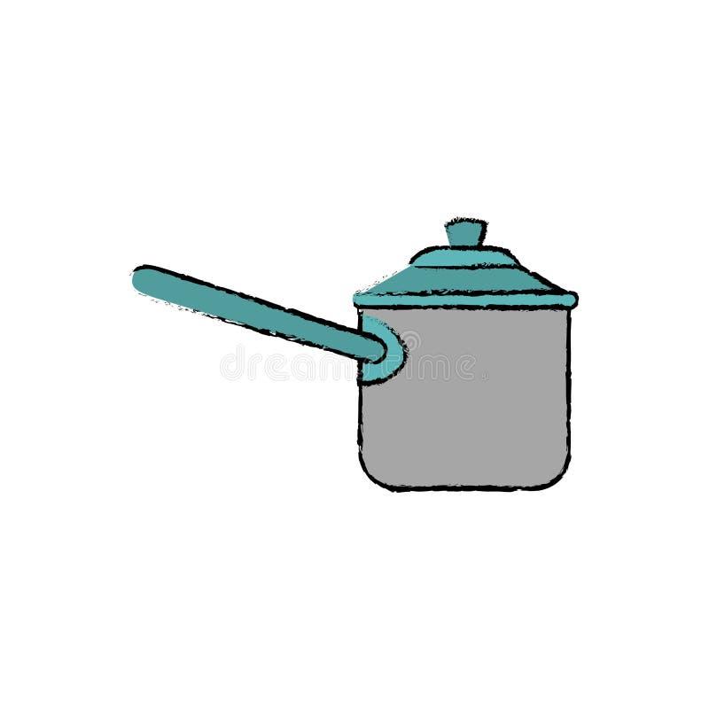 Pressione del fornello della cucina royalty illustrazione gratis
