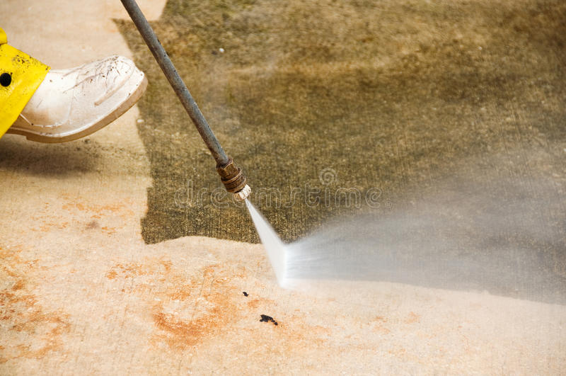 Download Pressure cleaning stock image. Image of driveway, dirt - 9707001