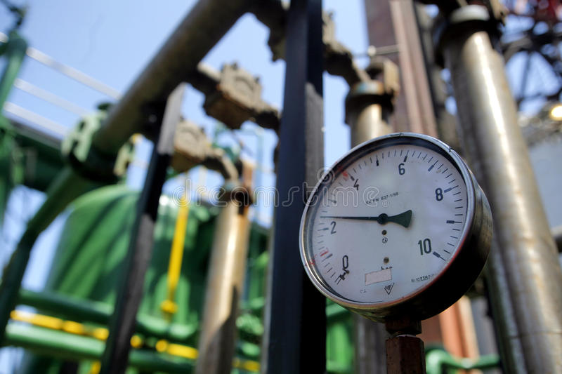 Download Pressure Gauge stock photo. Image of device, industry - 14713968