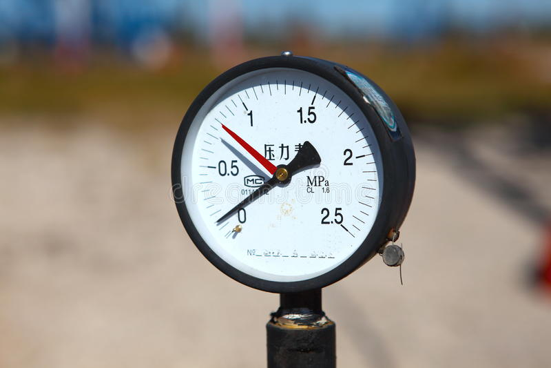 Download Pressure Gauge Stock Images - Image: 18045954
