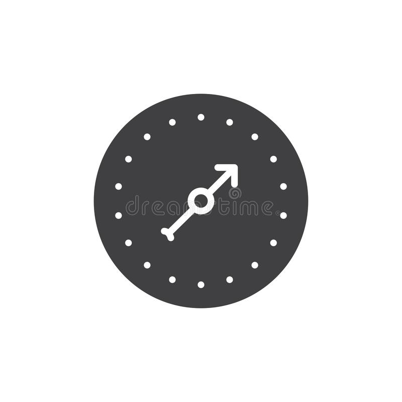 Pressure Gauge Icon Vector Stock Vector Illustration Of Control