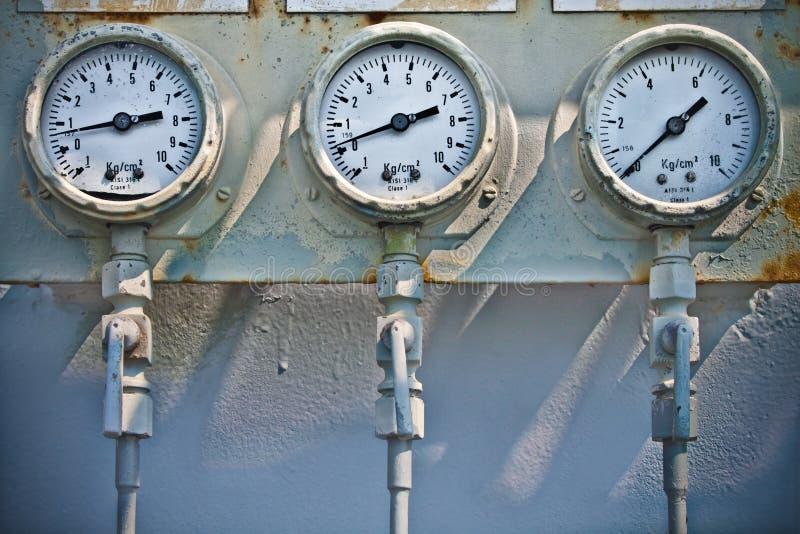Download Pressure Gauges stock image. Image of steam, engineering - 22357505