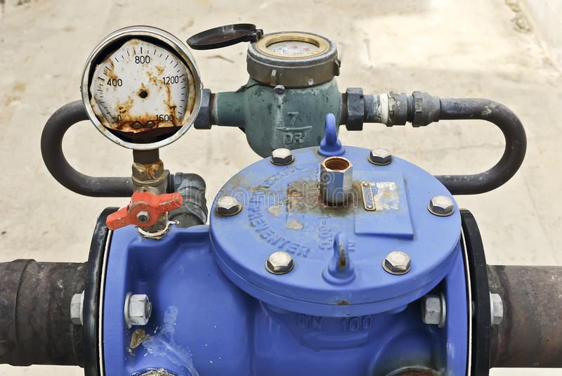 Download Pressure meter stock photo. Image of equipment, joint - 13607338