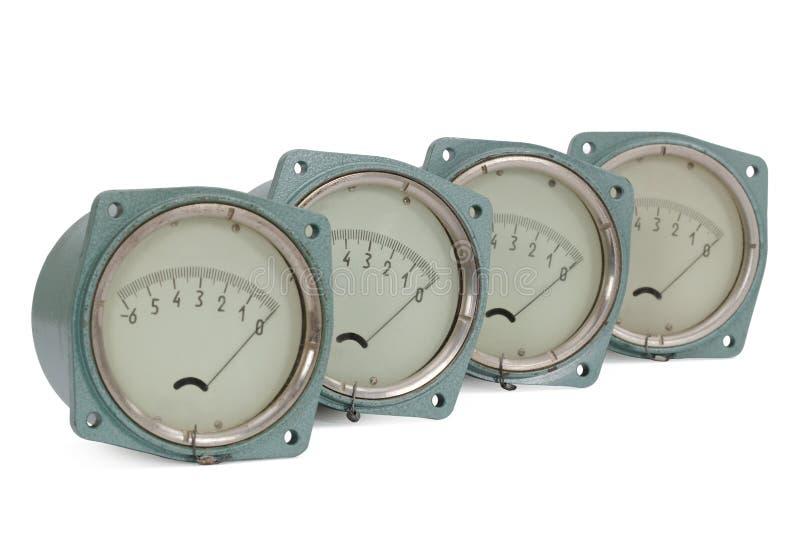 Download Pressure meter stock image. Image of meter, four, measurement - 27112233
