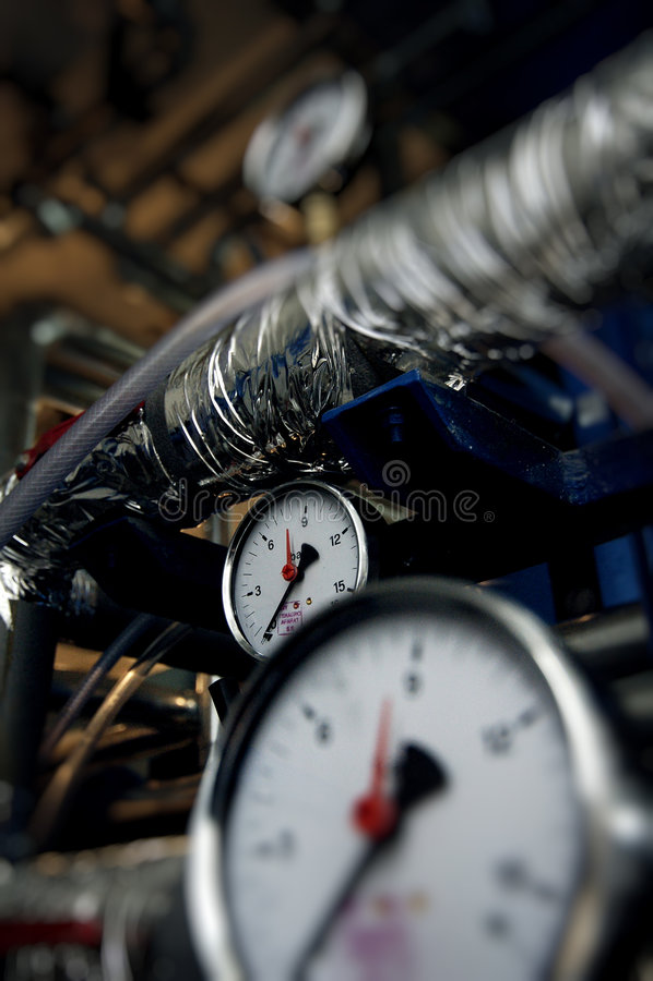 Free Pressure Meters Stock Photo - 8191620