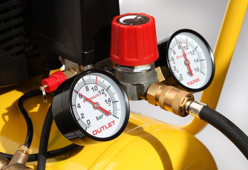 Download Pressure meters closeup stock image. Image of pipe, pressure - 26497213