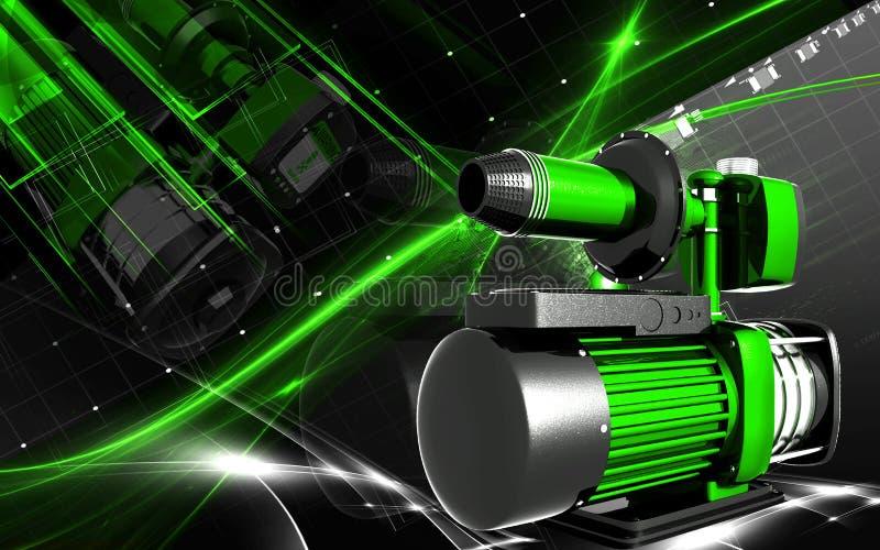 Download Pressure pump stock illustration. Image of graphics, background - 26713721