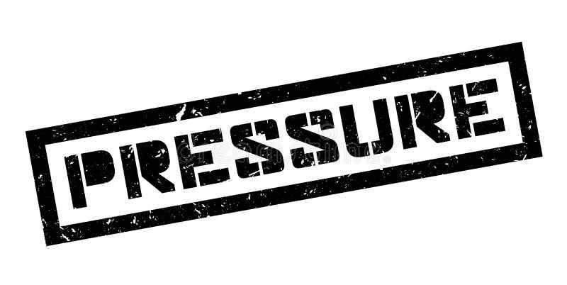 Pressure rubber stamp. On white. Print, impress overprint vector illustration