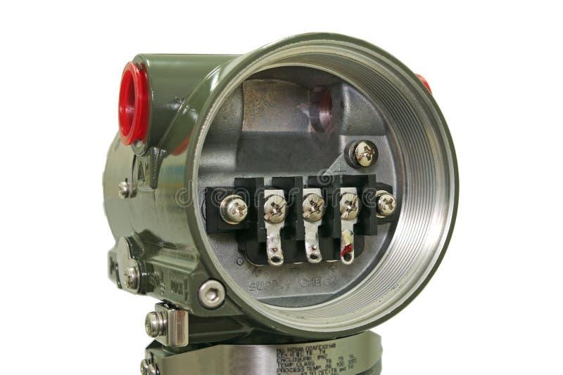 Download Pressure sensor. stock image. Image of close, guage, metal - 22024451