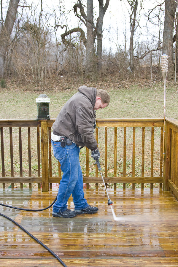 Download Pressure washing deck stock photo. Image of water, wash - 4161598