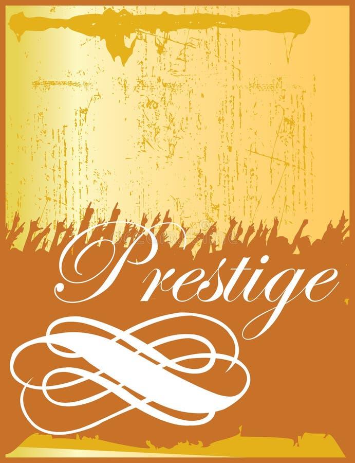 Prestígio ilustração royalty free
