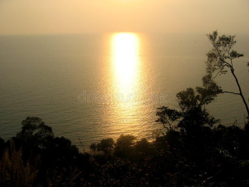Download Prestando Atenção Ao Por Do Sol Foto de Stock - Imagem de selva, tourism: 541874